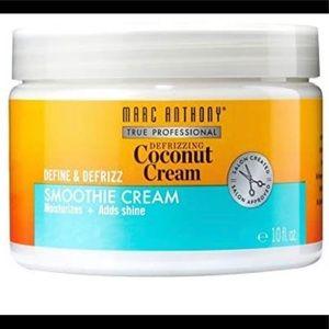 CURLY HAIR /DEFINE & DEFRIZ SMOOTH COCONUT CREAM
